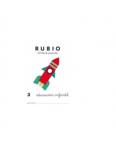 CUADERNO RUBIO PREESCOLAR 3