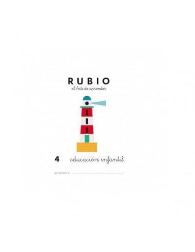 CUADERNO RUBIO PREESCOLAR 4