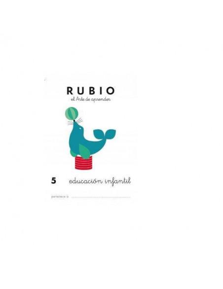 CUADERNO RUBIO PREESCOLAR 5