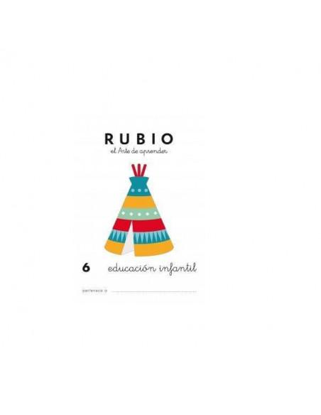 CUADERNO RUBIO PREESCOLAR 6