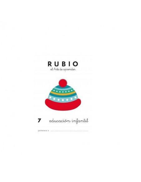 CUADERNO RUBIO PREESCOLAR 7