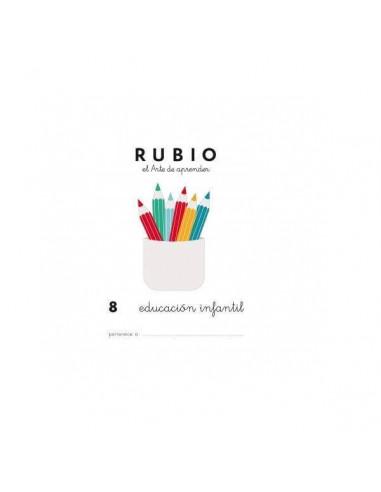 CUADERNO RUBIO PREESCOLAR 8