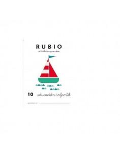 CUADERNO RUBIO PREESCOLAR 10