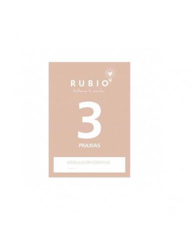 CUADERNO ESTIMULACION COGNITIVA PRAXIAS 3 RUBIO