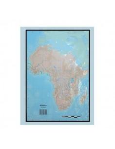 PAQUETE DE MAPAS MUDOS EN COLOR 50 MAPAS  FISICO AFRICA