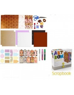 KIT DE MANUALIDADES ART BOX ALPINO SCRAPBOOK