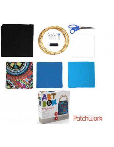 KIT DE MANUALIDADES ART BOX ALPINO PATCHWORK