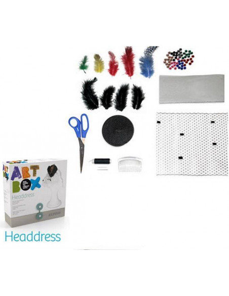 KIT DE MANUALIDADES ART BOX ALPINO HEADDRESS