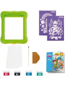KIT DE DECORACION CON MANUALIDADES ART KIDS GRAFFITI CITY