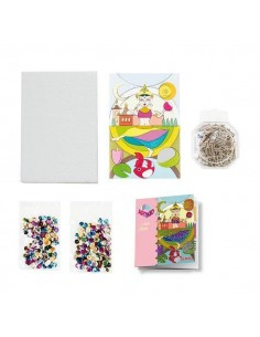 KIT DE DECORACION Y MANUALIDADES MINI ART KIDS BAILE DE YAMIR
