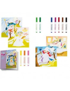 KIT DE DECORACION Y MANUALIDADES MINI ART KIDS MAGOS Y BRUJAS