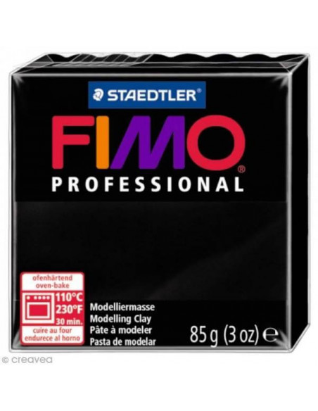 FIMO PROFESSIONAL 85GR NEGRO