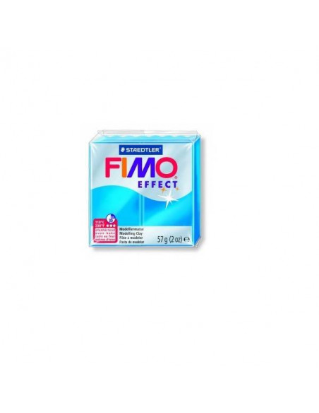 FIMO TRASLUCIDO EFFECT 57 GR COLOR AZUL