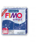 FIMO PURPURINA EFFECT 57 GR COLOR AZUL