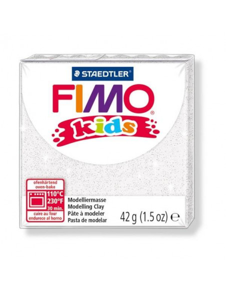 FIMO KIDS DE 42GR BLANCO BRILLANTE
