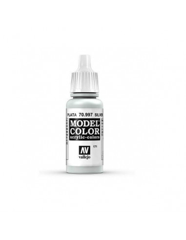 MODELCOLOR METALLIC COLOR PLATA (171) 17ML.