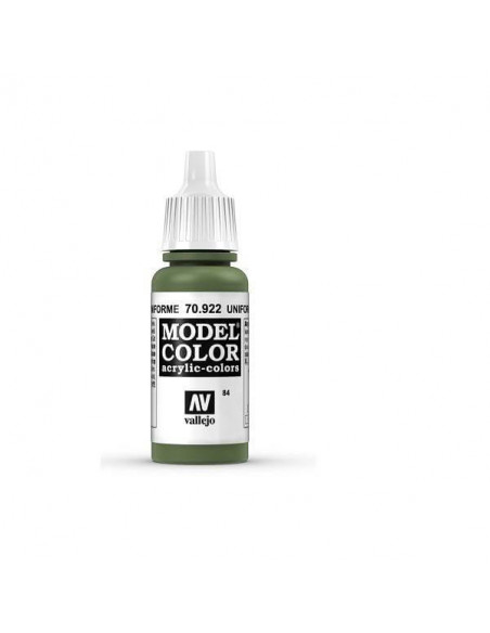 PINTURA MODELCOLOR MATT VERDE UNIFORME (84) 17ML.