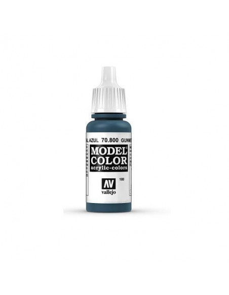 MODELCOLOR AZUL METAL (180) 17ML.