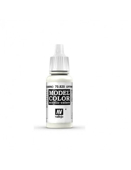 MODELCOLOR MATT BLANCO PERGAMINO 17ML.