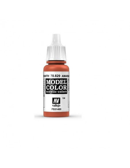 MODELCOLOR MATT ROJO AMARANTH 17ML.