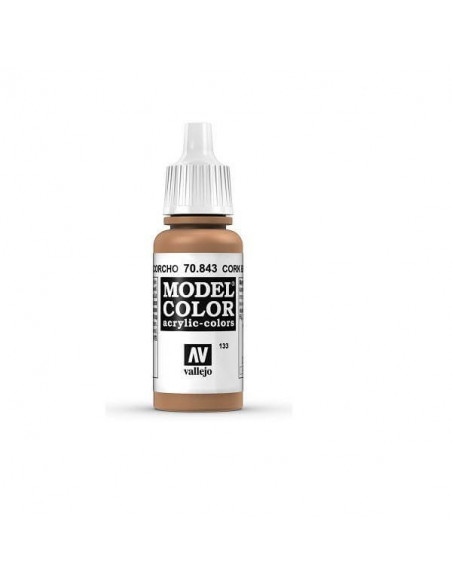 MODELCOLOR MATT MARRÓN CORCHO 17ML.