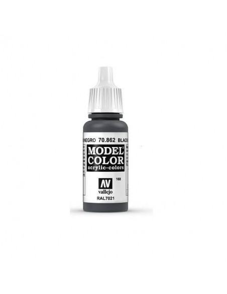 MODELCOLOR MATT GRIS NEGRO 17ML.