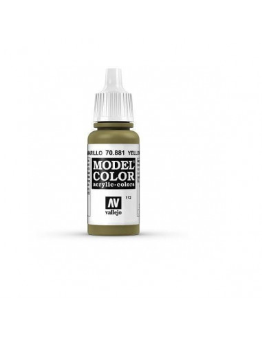 MODELCOLOR MATT VERDE AMARILLO (112) 17ML.
