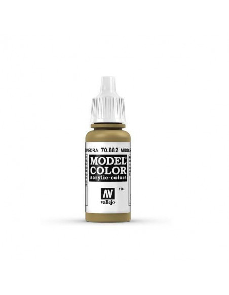 MODELCOLOR MATT AMARILLO PIEDRA 17ML.