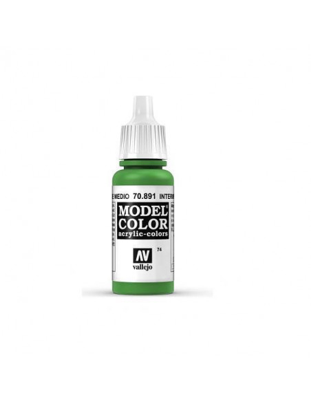 MODELCOLOR MATT VERDE MEDIO (74) 17 ML.