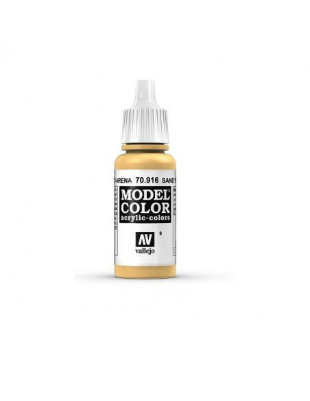 PINTURA MODELCOLOR MATT AMARILLO ARENA (9) 17ML.