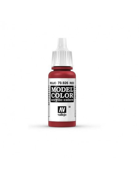 PINTURA MODELCOLOR MATT ROJO (33) 17ML.