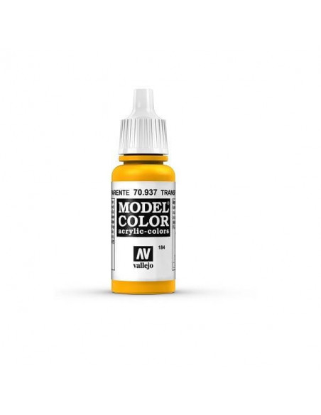 PINTURA MODELCOLOR AMARILLO TRANSPARENTE (184) 17ML.