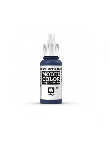 MODELCOLOR AZUL TRANSPARENTE (187) 17ML.