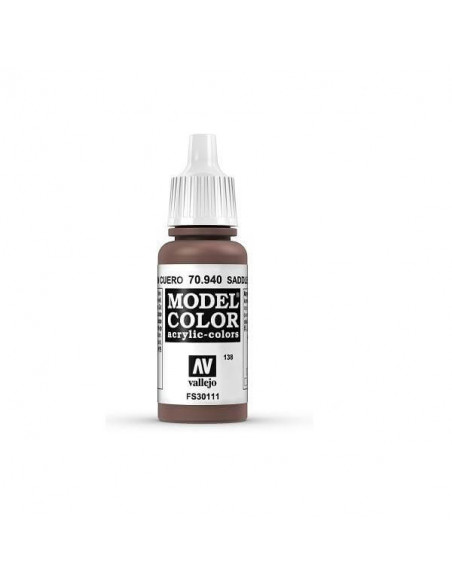 PINTURA MODELCOLOR MATT MARRÓN CUERO (138) 17ML.