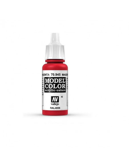 PINTURA MODELCOLOR MATT MAGENTA (42) 17ML.