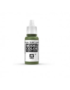 COLORES PARA MODELISMO MATT VERDE OLIVA (82) 17ML.