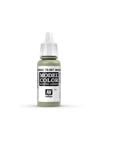 COLORES DE MODELISMO MATT GRIS MEDIO (111) 17ML.
