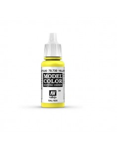 MODELCOLOR FLUORESCENTE AMARILLO FLUO (206) 17ML