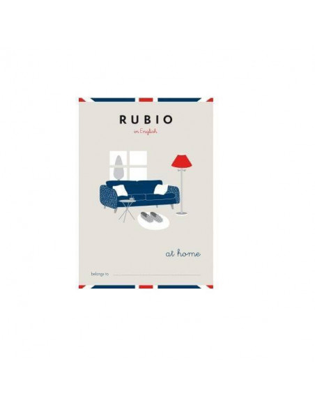 CUADERNO RUBIO ENGLISH AT HOME