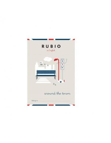 CUADERNO RUBIO ENGLISH CON LA TEMÁTICA ALREDEDOR DEL PUEBLO