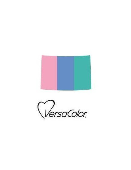 ALMOHADILLA DE TINTA DE 3 COLORES 95 X 65 MM COTTON CANDY