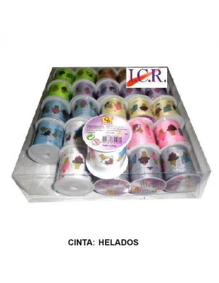 CINTA DE SCRAPBOOKING COLOR CREMA DE 1 X 250 CM