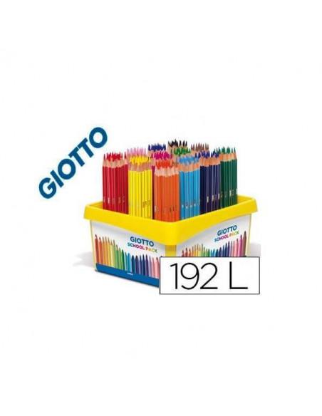 CAJA DE 192 UNIDADES DE 12 COLORES 3.0 DE GIOTTO