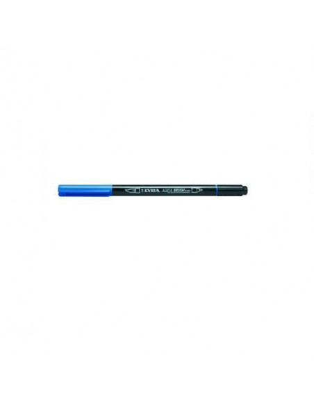 ROTULADORES LYRA AQUA BRUSH DUO AZUL PRUSIA