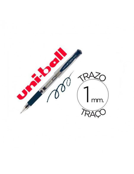 BOLIGRAFO UNIBALL SIGNO BROAD COLOR AZUL OSCURO 1.0 MM