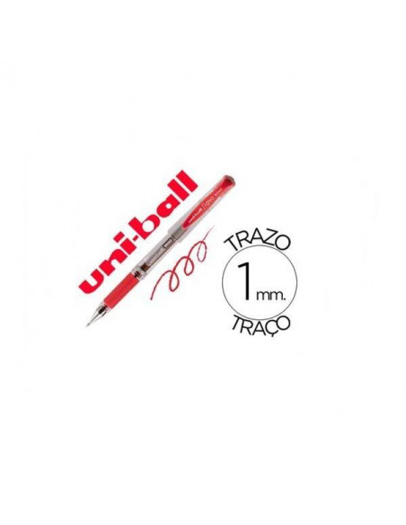 BOLIGRAFO UNIBALL SIGNO BROAD COLOR ROJO 1.0 MM
