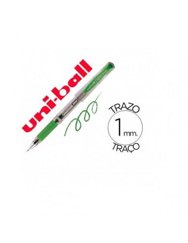 BOLIGRAFO UNIBALL SIGNO BROAD COLOR VERDE DE 1MM.