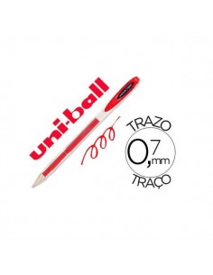 BOLIGRAFO UNIBALL SIGNO 0.7 MM COLOR ROJO
