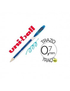 BOLIGRAFO UNIBALL SIGNO 0.7 MM COLOR AZUL CLARO