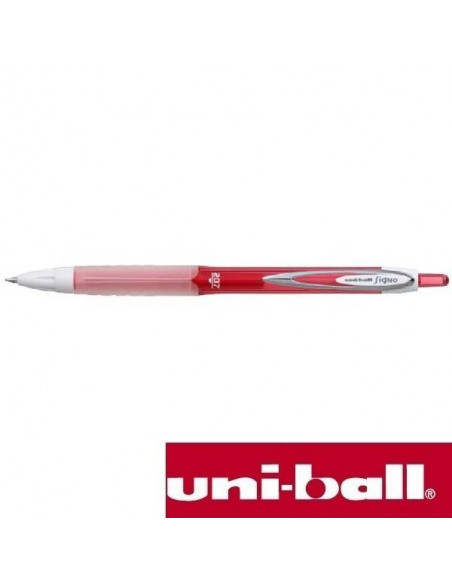 UNI-BALL SIGNO 207 COLORS DE 0.7 MM COLOR ROJO